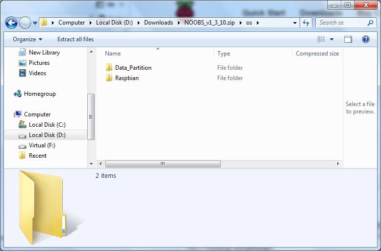 Raspberry pi 2 noobs download