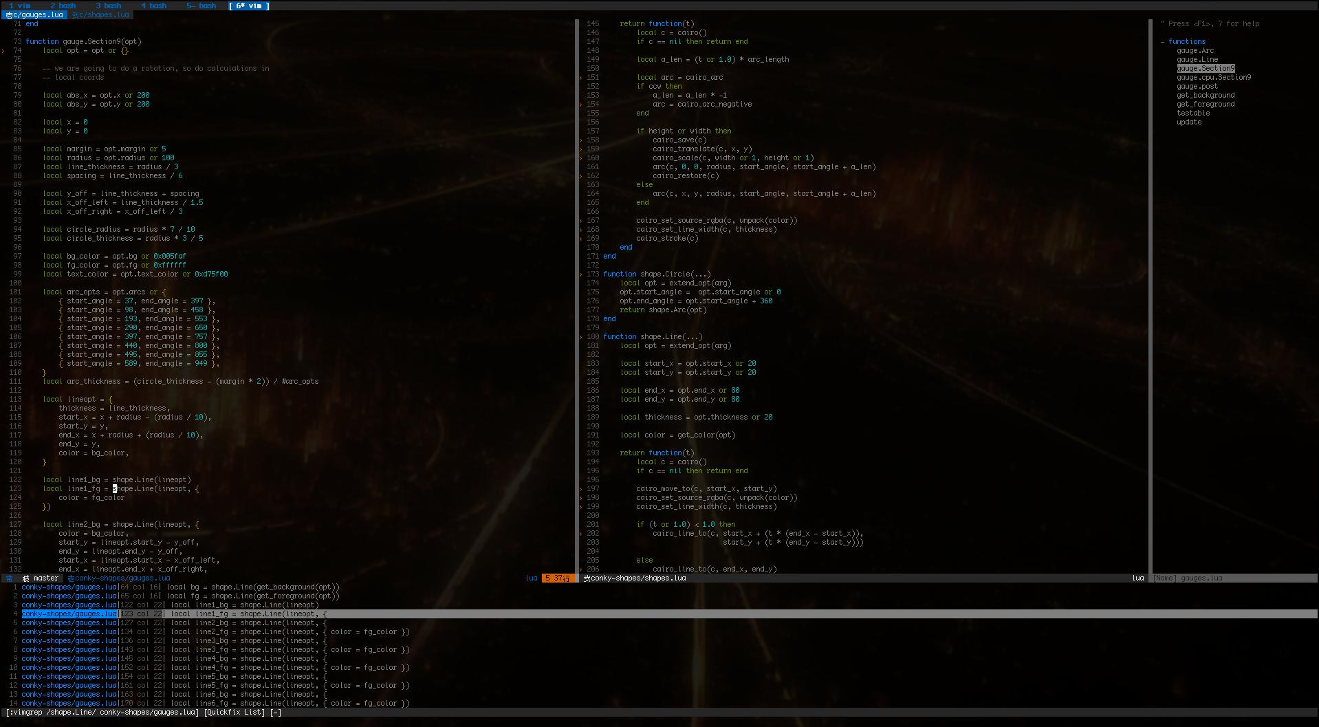 Screenshot Showcase 2 0 : vim